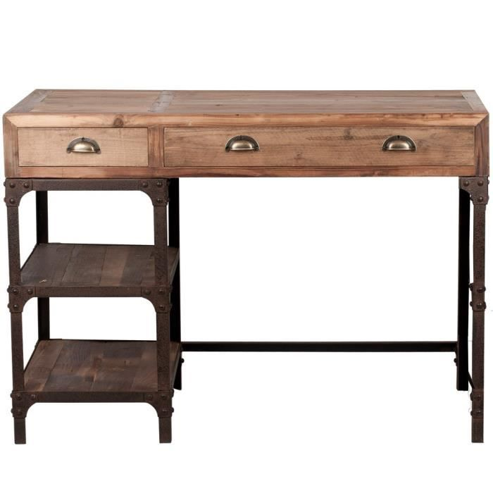 bureau de style industriel remember x achat