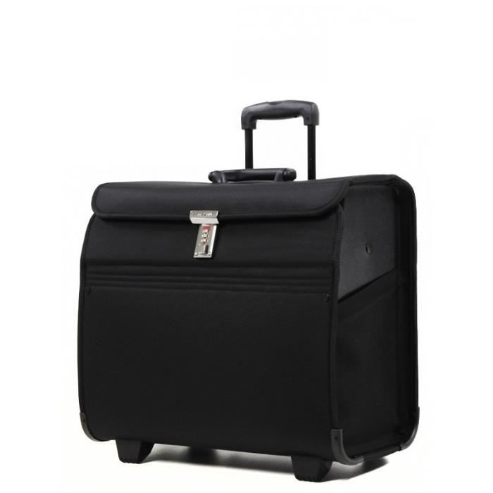 pilot case trolley samsonite transit ii noir noir noir achat vente trolley materiel. Black Bedroom Furniture Sets. Home Design Ideas