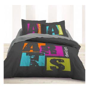 housse de couette cosy achat vente housse de couette cosy pas cher cdiscount. Black Bedroom Furniture Sets. Home Design Ideas