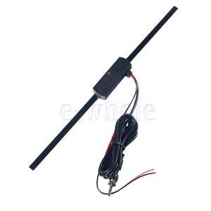 ANTENNE AUTO-MOTO Auto Voiture Invisible Amplifié Antenne 12V Électr