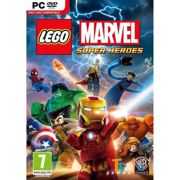 Lego marvel super heroes jeu pc achat vente jeu pc lego marvel super heroes pc cdiscount - Jeux de lego sur jeux info ...