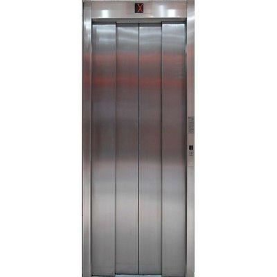 Papier peint porte ascenseur ferm pa02 dimensions for Papier peint sur porte