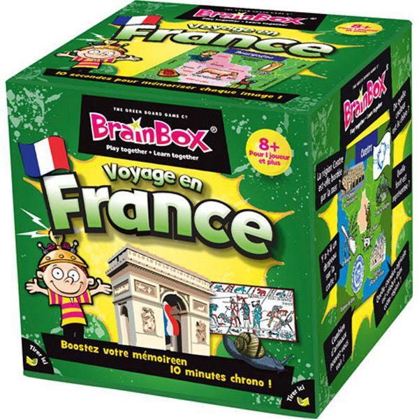 Jaux France  city photos gallery : Brainbox Voyage en France Achat / Vente jeu société plateau ...