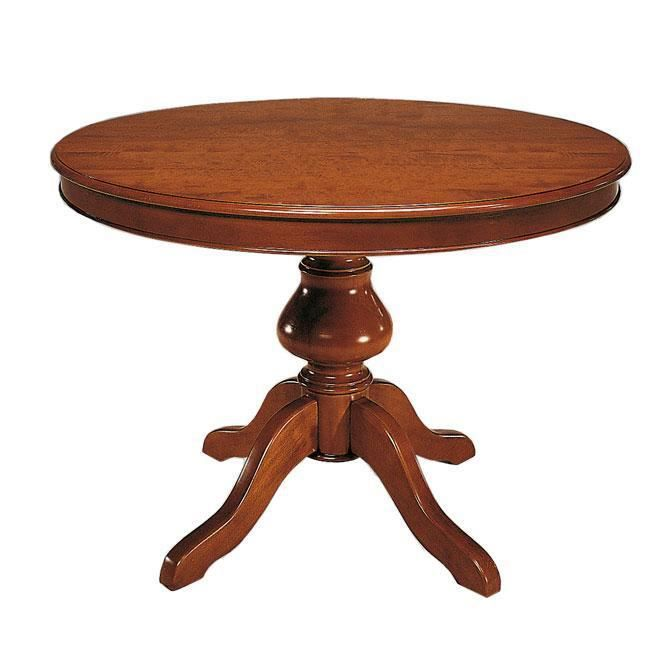 437 table ronde cm 120 rallongeartisans de achat. Black Bedroom Furniture Sets. Home Design Ideas