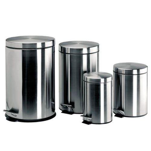 Lacor 63305 poubelle p dale inox 5 litres achat vente poubelle corbeille lacor for Poubelle cuisine inox
