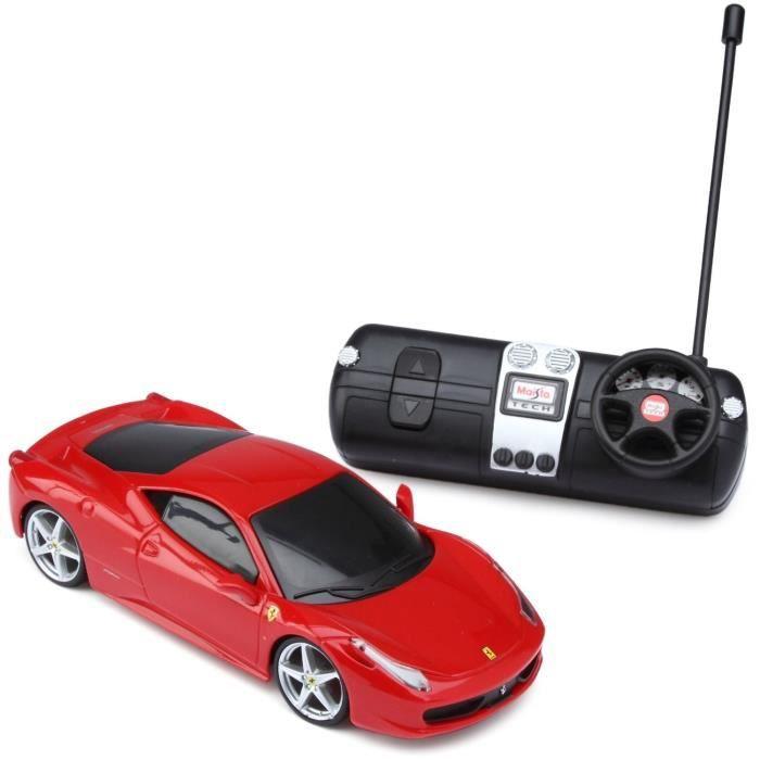 ferrari voiture t l command echelle 1 24 rouge achat vente voiture camion cdiscount. Black Bedroom Furniture Sets. Home Design Ideas