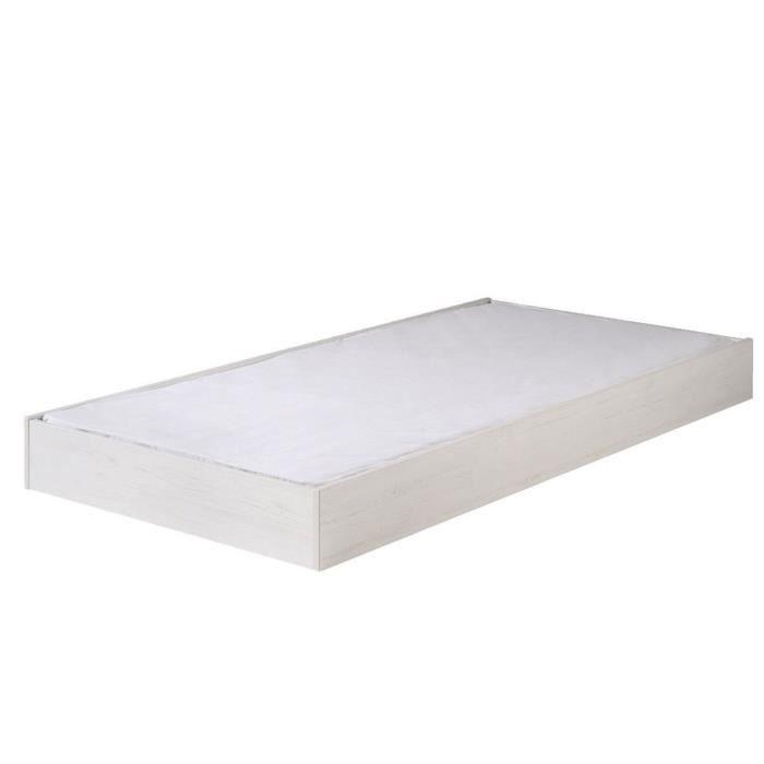tiroir pour lit gigogne achat vente tiroir pour lit gigogne pas cher cdiscount. Black Bedroom Furniture Sets. Home Design Ideas