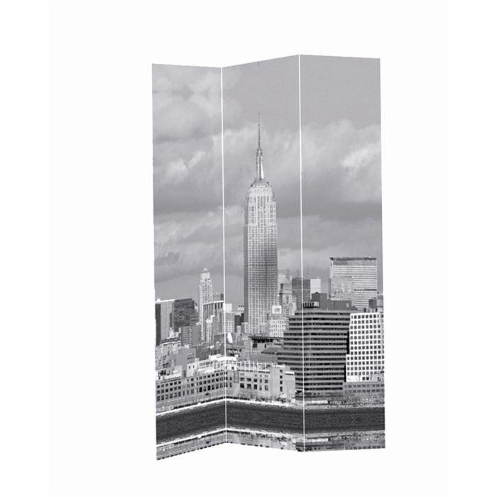 Paravent toile paris new york 120x180 cm achat vente paravent - Achat maison new york ...