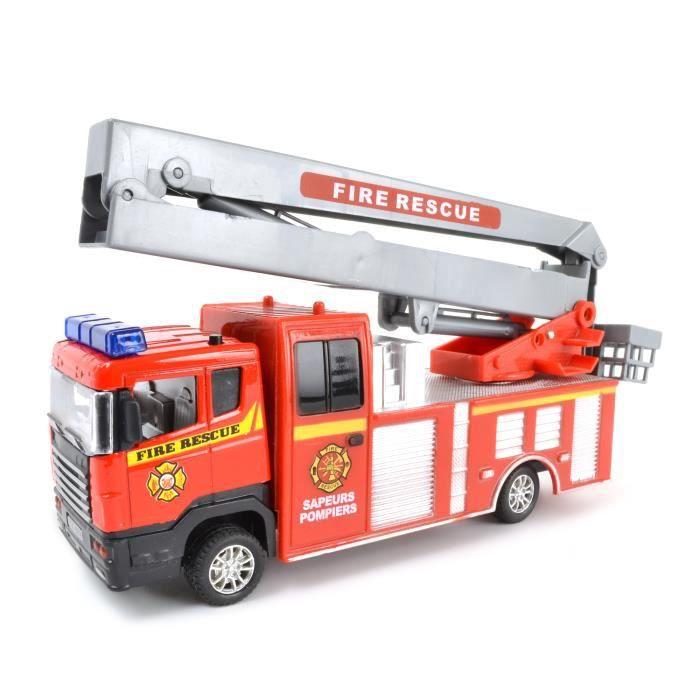 Camion pompier son lumiere modele aleatoire achat vente voiture camio - Vente camion pompier ...
