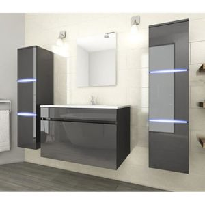 salle de bain complte achat vente salle de bain complte pas cher cdiscount - Salle De Bain