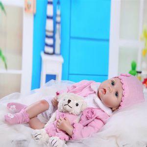 POUPON BRO®Simulation 55CM bébé reborn poupon poupée