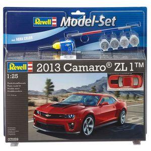 VOITURE À CONSTRUIRE REVELL Model Set 2013 Camaro ZL-1 Maquette à Const