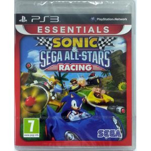 JEU PS3 Sonic and Sega All-Stars Racing: Essentials (Plays