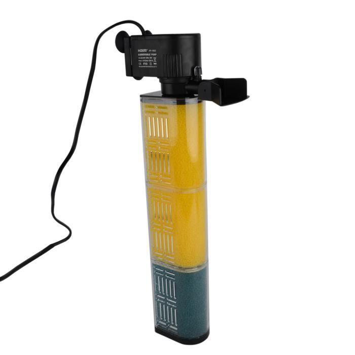 aquarium filtre interne pompe de filtration pour fish tank 25w 1200l h achat vente