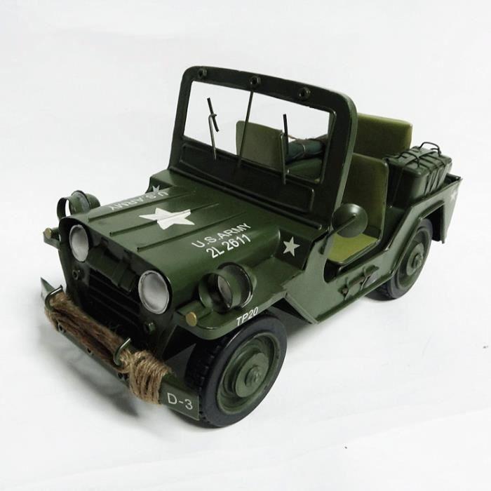 mod le de jeep militaire seconde guerre mondiale achat vente objet d coratif cdiscount. Black Bedroom Furniture Sets. Home Design Ideas