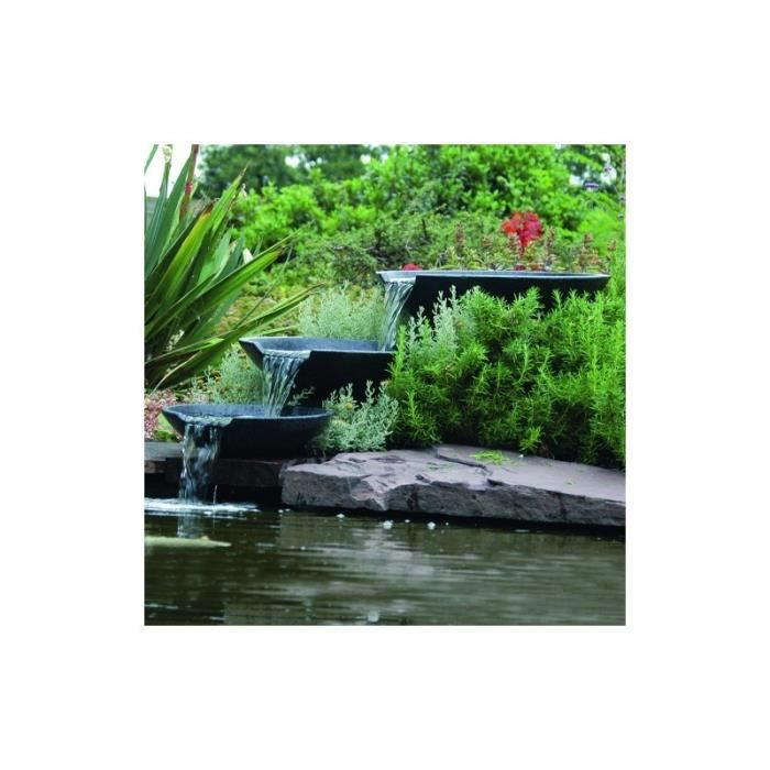 fontaine de jardin cascade 3 vasques achat vente bassin fontaine de jardin cascade cdiscount. Black Bedroom Furniture Sets. Home Design Ideas