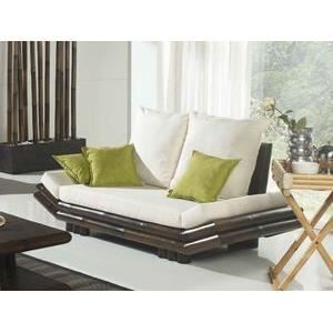 canap lotus bambou achat vente canap sofa divan bambou cdiscount. Black Bedroom Furniture Sets. Home Design Ideas