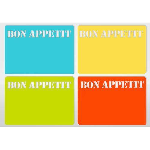 Sets de table 39 bon appetit 39 x6 achat vente chemin et for Dimensions set de table