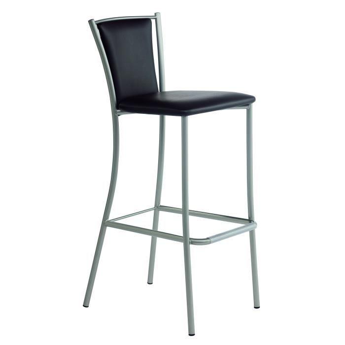 tabouret de bar design reina ht80 l 43 5 x p 56 x h 107. Black Bedroom Furniture Sets. Home Design Ideas