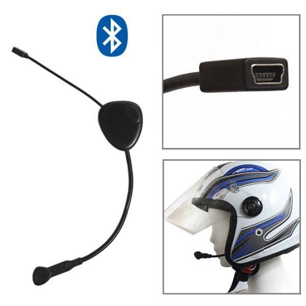 mini casque bluetooth oreillette kit mains libres t l phone noir achat vente intercom moto. Black Bedroom Furniture Sets. Home Design Ideas