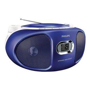 RADIO CD CASSETTE PHILIPS AZ105V Lecteur CD radio portable