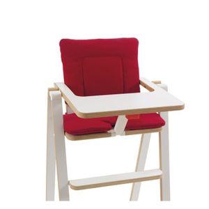 SUPAFLAT Coussin de chaise haute - signature red