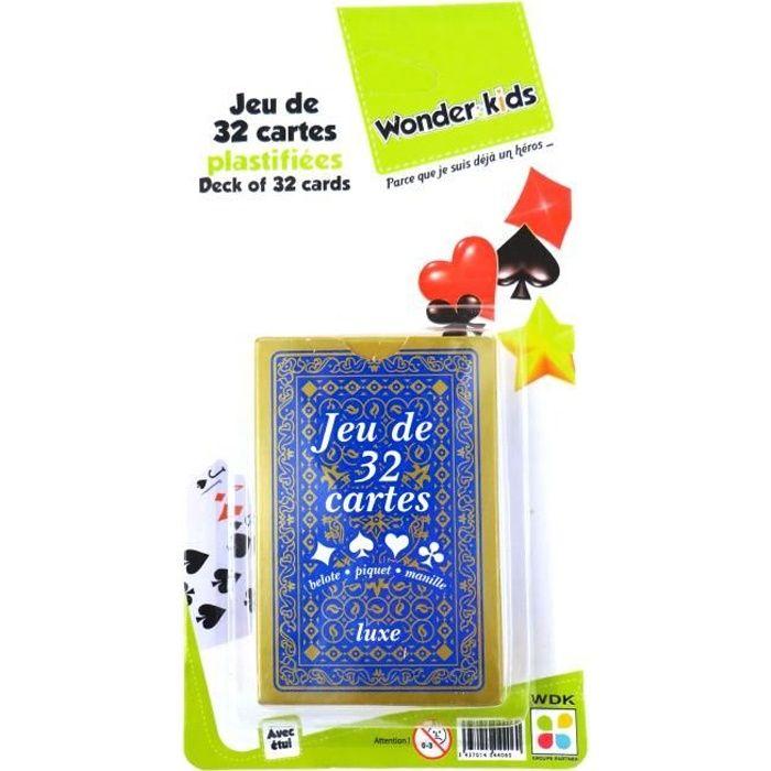 WONDERKIDS - Jeu de 32 Cartes - Achat / Vente cartes de ...