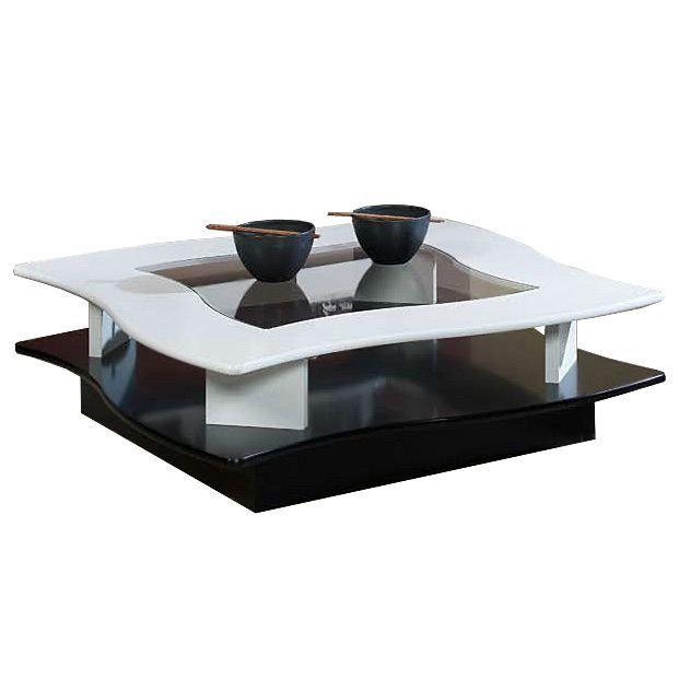 table basse marjorie gm en forme de vague achat vente table basse table basse cdiscount. Black Bedroom Furniture Sets. Home Design Ideas