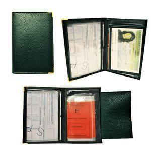 porte carte cb cr dit cartes grise permis et pa gris vert noir bleu achat vente porte. Black Bedroom Furniture Sets. Home Design Ideas