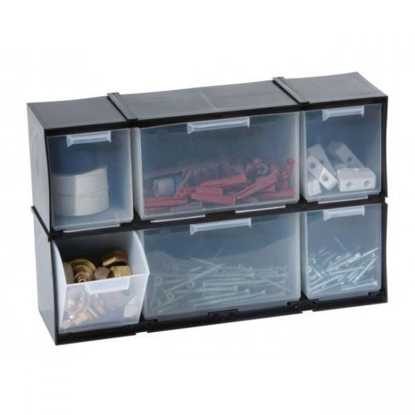 Meuble de stockage tiroirs avec 6 compartiments pour la for Liste de meuble pour la maison