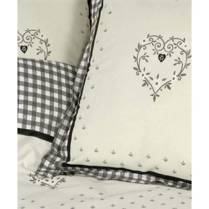 housse de couette chalet. Black Bedroom Furniture Sets. Home Design Ideas