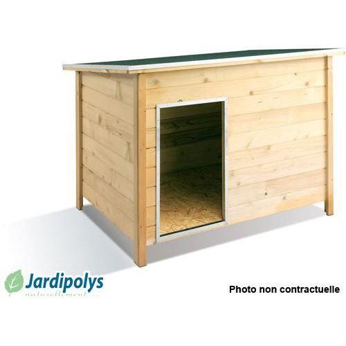 Niche pour chien modern xl jardipolys achat vente niche niche pour chien - Idee niche pour chien ...