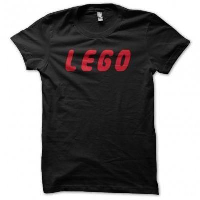 Tee shirt Lego noir