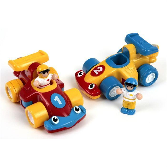 les 2 formule 1 wow toys jouet d 39 veil achat vente voiture camion cdiscount. Black Bedroom Furniture Sets. Home Design Ideas