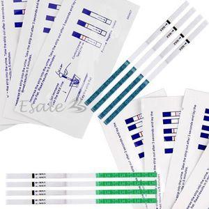 TEST D'OVULATION 10 x Bandelette Papier Test de Grossesse précoce +