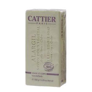 SAVON - SYNDETS Cattier Alargil Savon Doux Végétal 150 g