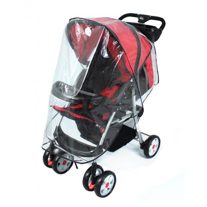 housse de la pluie pour poussette en plastique tanche prot ger l 39 enfant contre le vent achat. Black Bedroom Furniture Sets. Home Design Ideas