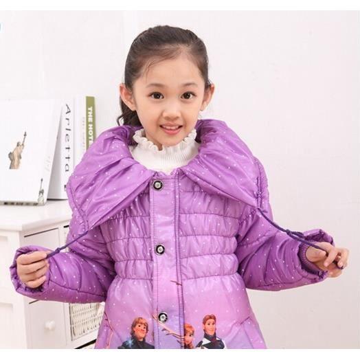 doudoune manteau veste fille reine des neiges elsa anna. Black Bedroom Furniture Sets. Home Design Ideas