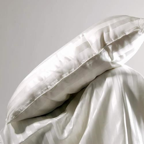oreiller en soie 60x45 blanc achat vente oreiller. Black Bedroom Furniture Sets. Home Design Ideas