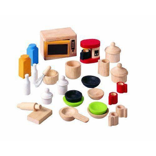 Accessoires cuisine jouet - Ustensile de cuisine en bois ...