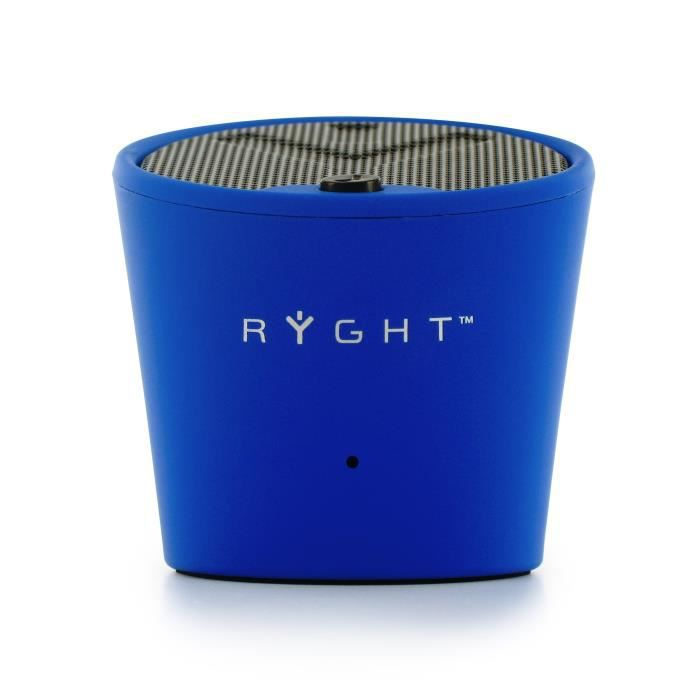 ryght pure decibel mini enceinte filaire bleue enceinte nomade avis et prix pas cher soldes. Black Bedroom Furniture Sets. Home Design Ideas
