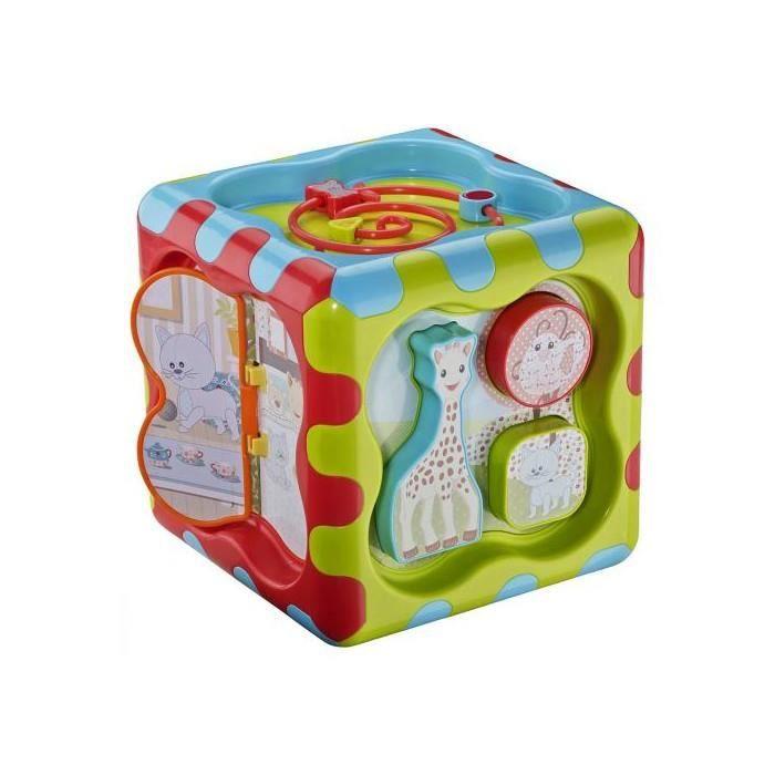 cube d 39 activite cubbig sophie la girafe achat vente. Black Bedroom Furniture Sets. Home Design Ideas