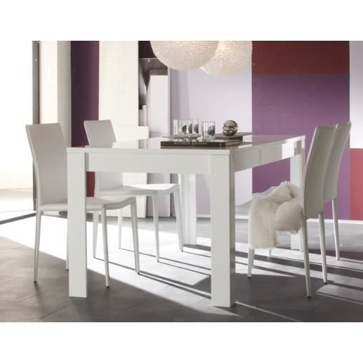 Table de salle manger design laila l 180 x p 90 x h 76 for Table de salle a manger design
