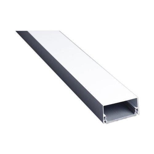 schwaiger lwk115e002 passe c ble en aluminium anguleux. Black Bedroom Furniture Sets. Home Design Ideas