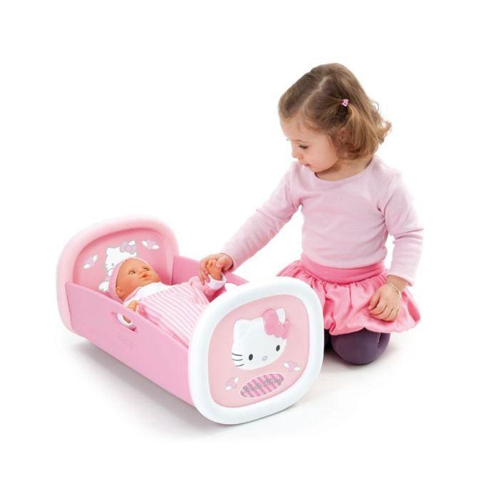 hello kitty lit bascule pour poupon achat vente accessoire poupon soldes d t cdiscount. Black Bedroom Furniture Sets. Home Design Ideas