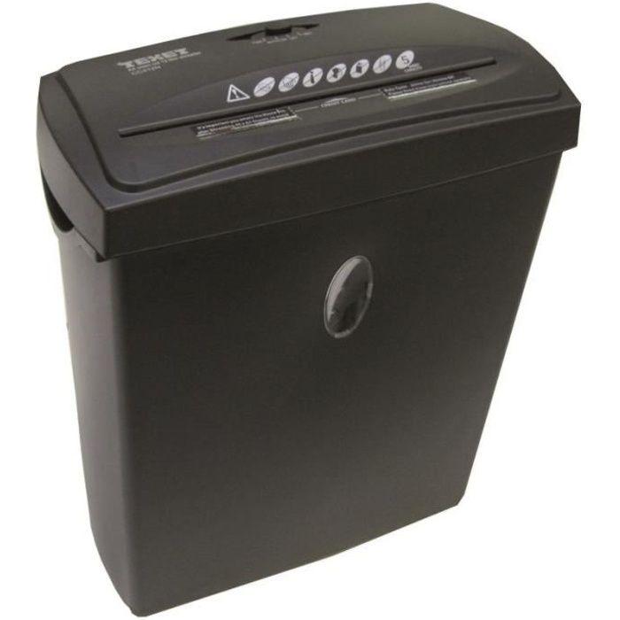 destructeur document coupe crois e 12 litres achat. Black Bedroom Furniture Sets. Home Design Ideas