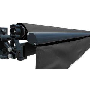 store banne 3x2 5 gris achat vente store banne 3x2 5 gris pas cher les soldes sur. Black Bedroom Furniture Sets. Home Design Ideas