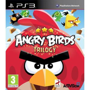 JEU PS3 Angry Birds Trilogy Jeu PS3