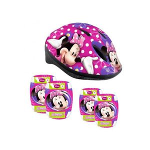 MINNIE Casque + Coudi?res/Genouill?res