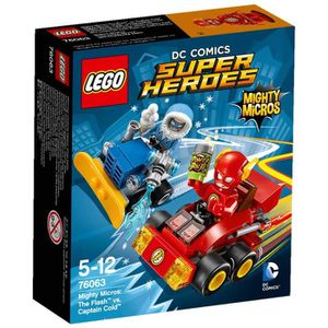 ASSEMBLAGE CONSTRUCTION LEGO® Super Heroes - DC Universe 76063 Mighty Micr